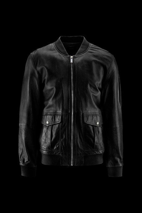 Man's leather Bomber Kent