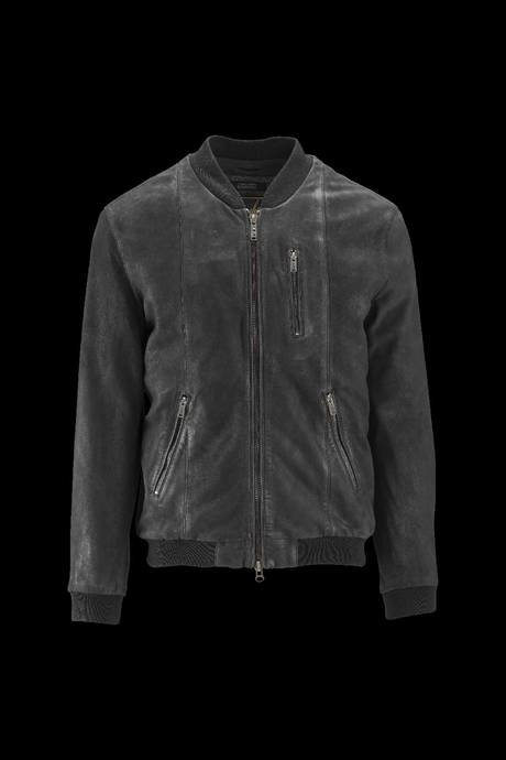Man's leather bomber Riff