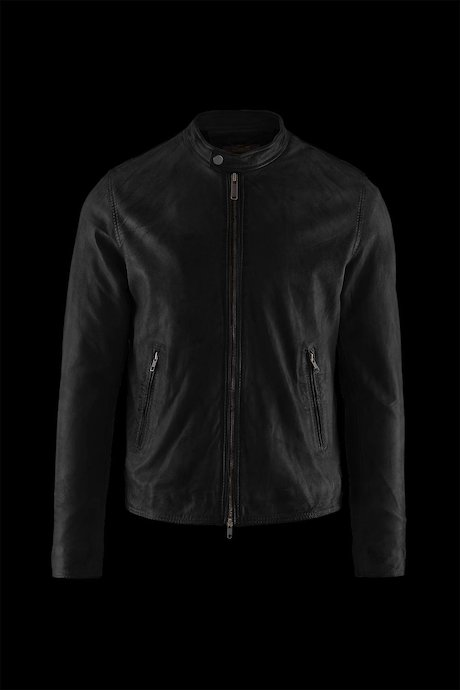 Man's leather jacket Roke
