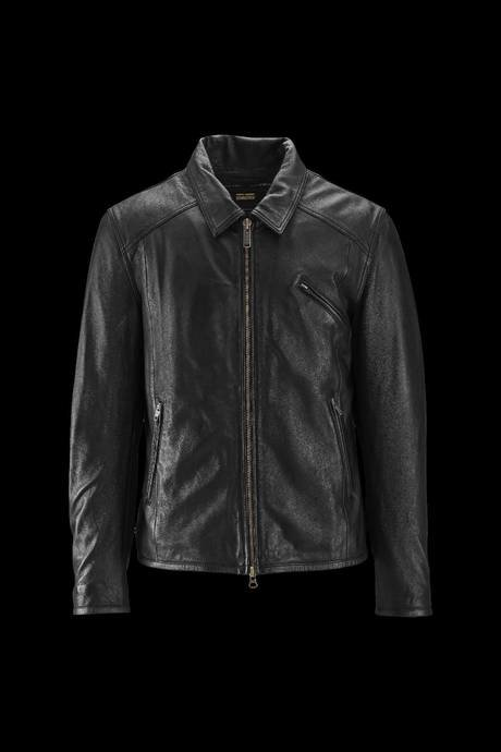 Man's leather coat Wick L