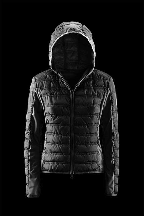 JACKET WOMAN WITH SOFTSHELL INSERTS