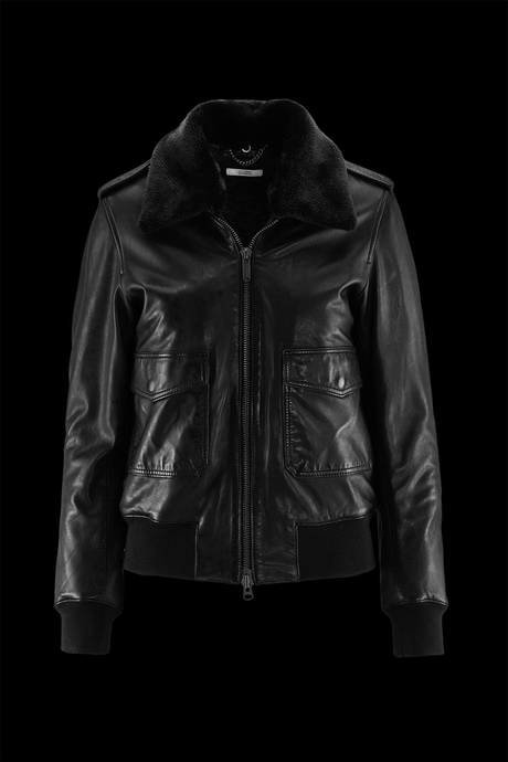 Woman's leather jacket Baya