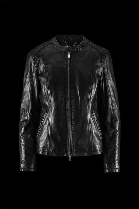 Woman's leather coat Hajy