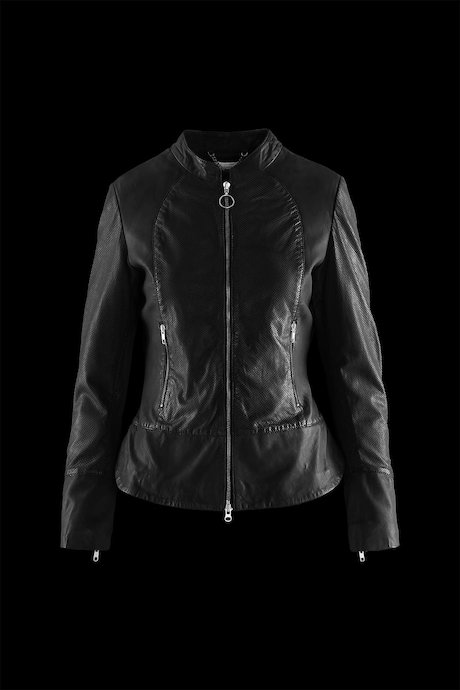 Woman's leather jacke Maja