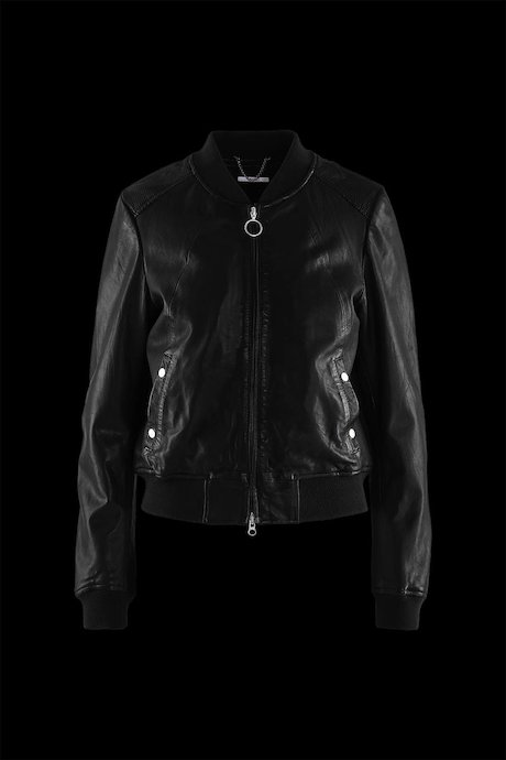Woman's leather jacket Moha