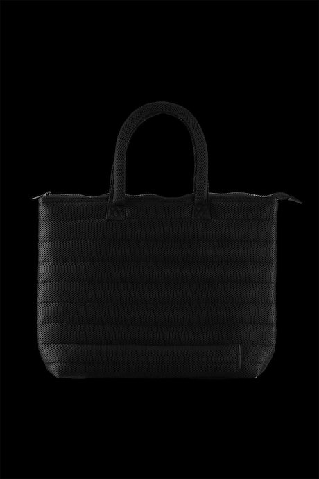 Quilted bag in 3D mesh