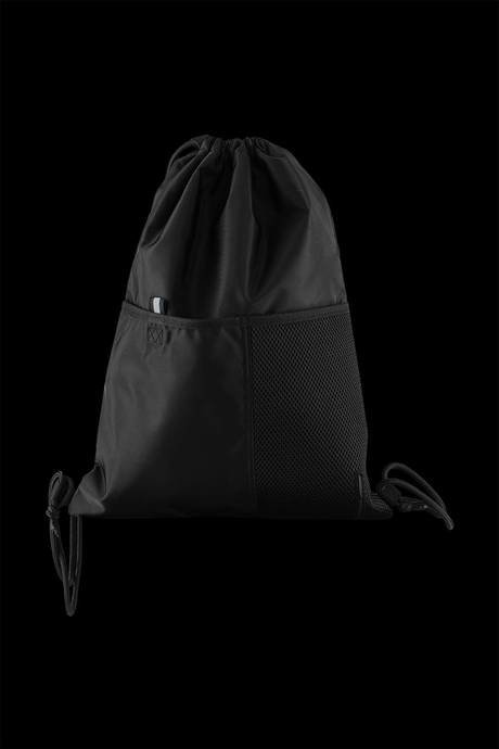 Small backpack with applied pockets