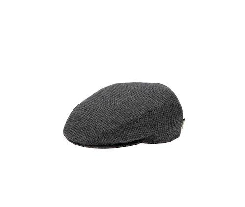 Fabric flat cap