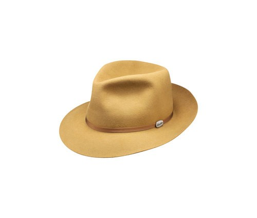 Astuccio leather hatband