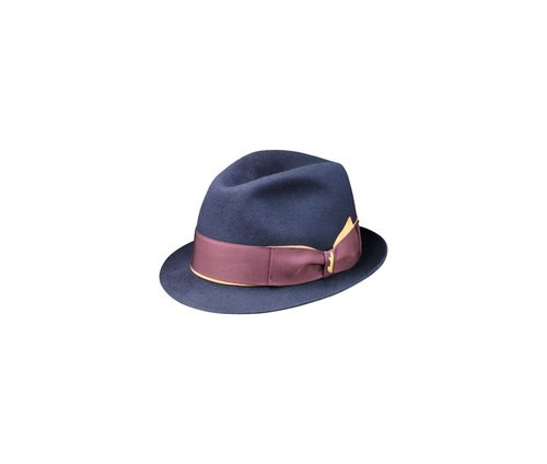 Astuccio two-colour hatband