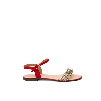 Flat sandals with bands – Lancetti