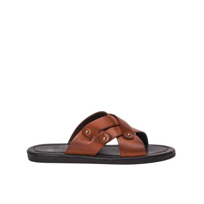 Men weave leather slippers – Lancetti