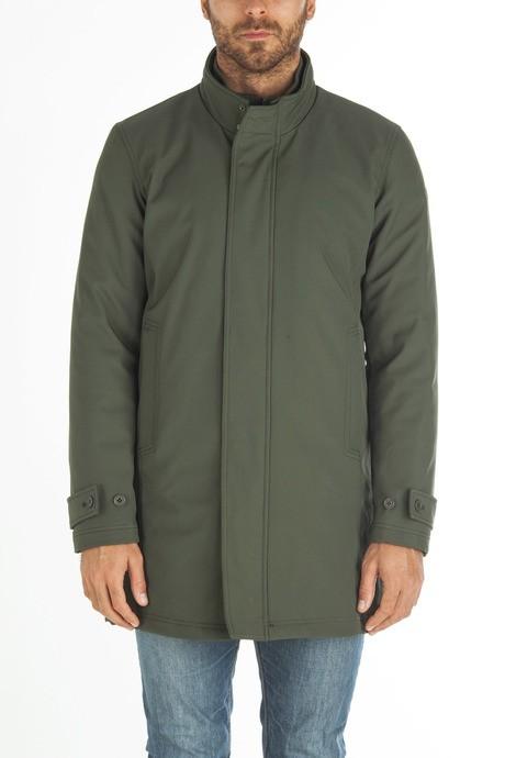 Man's long softshell jacket