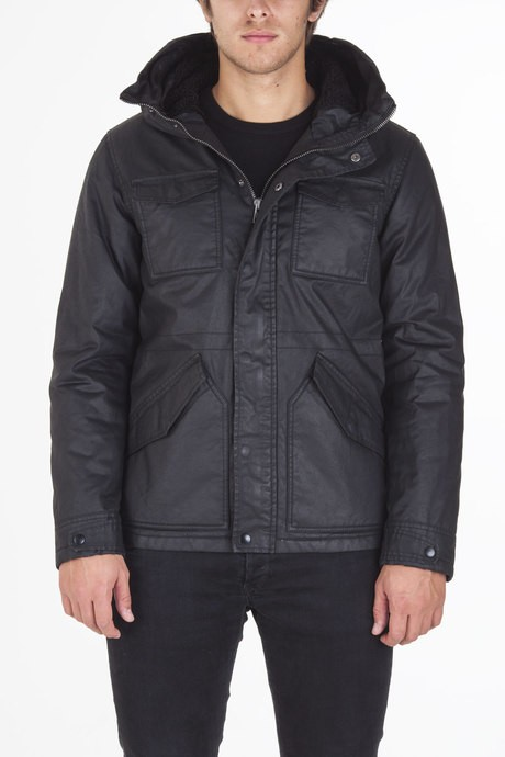 Man's jacket with hood