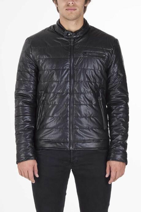 Man' leather jacket