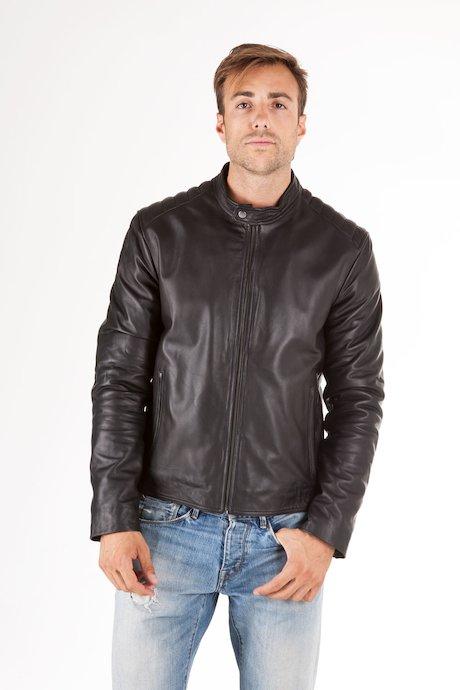 Man's leather jacket