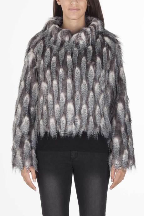 Woman's faux fur