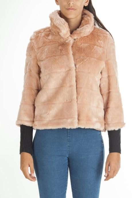 Woman's faux fur coat