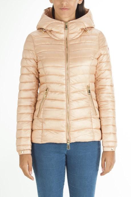 Woman's jacket with hood