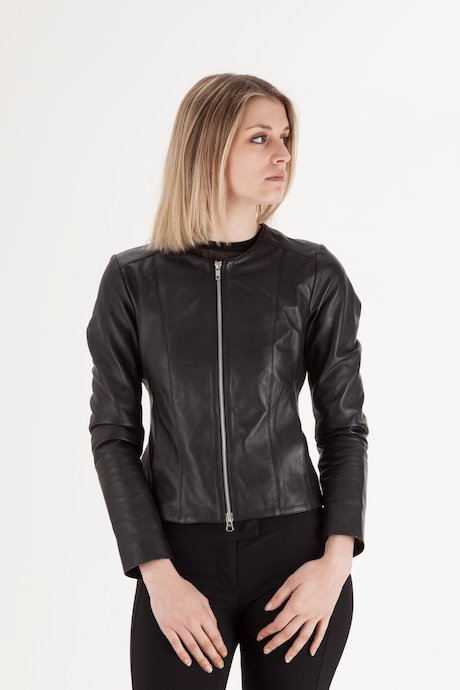 Woman's Leather Jacket - JWEDENPSES