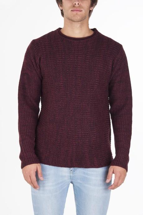 Man's bicolor sweater