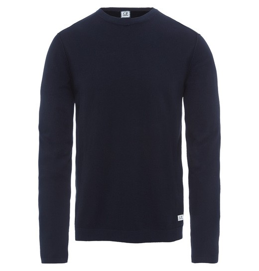 COTTON CREW NECK SWEATER