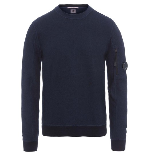 TACTING FLEECE LENS CREW NECK