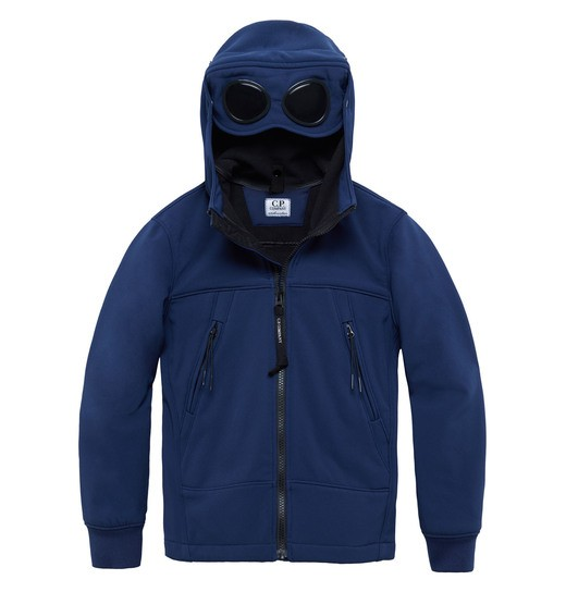 UNDER16 C.P. SOFT SHELL GOGGLE ZIP JACKET 2-8 YRS