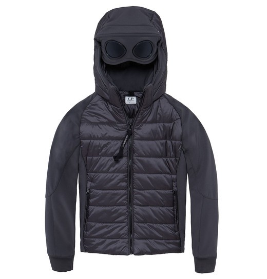 UNDER16 C.P. SOFT SHELL MIXED GOGGLE ZIP JACKET 10-14 YRS
