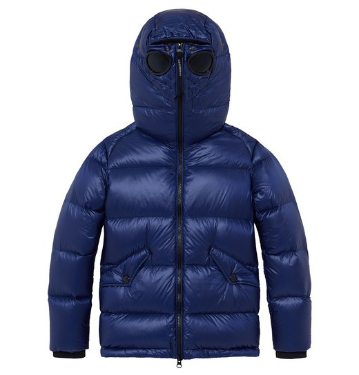 UNDER16 NYLON GOGGLE EXPLORER DOWN JACKET 2-8 YRS