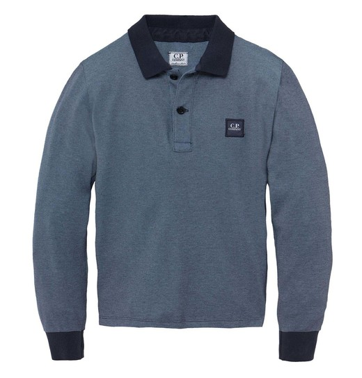 UNDER16 TACTING PIQUET GD LS POLO 2-8 YRS