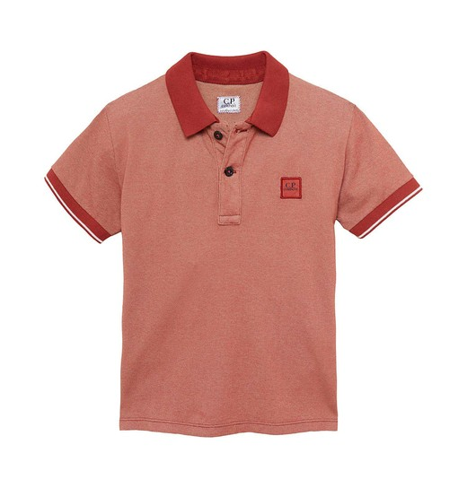 UNDER16 TACTING PIQUET GD SS POLO 10-14 YRS