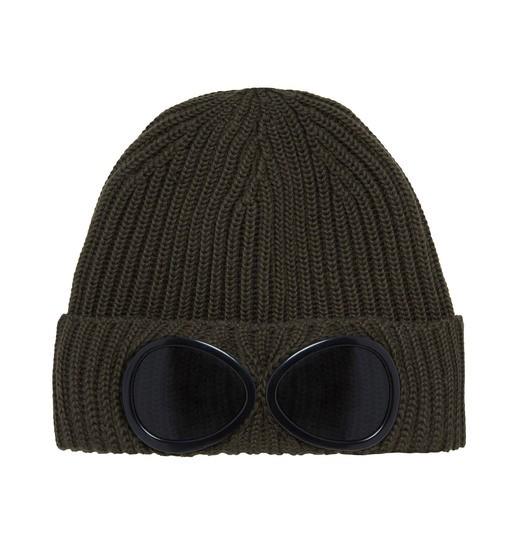 GOGGLE BEANIE HAT