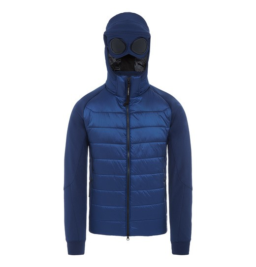 C.P. SOFT SHELL MIXED GOGGLE ZIP JACKET