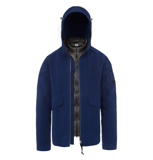 VULCAN LENS HOODED JACKET