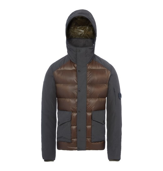 D.D. SHELL MIXED LENS DOWN JACKET