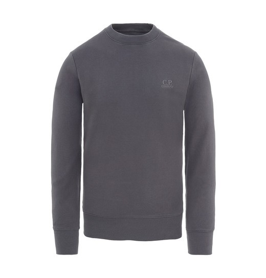 DIAGONAL FLEECE TONAL LOGO CREW NECK SWEATSHIRT