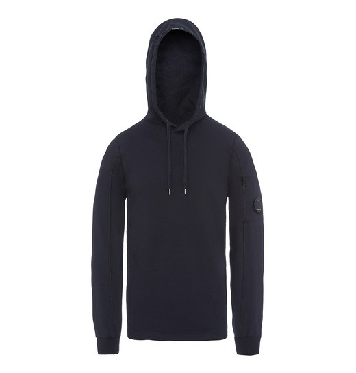 GD LIGHT FLEECE LENS HOODED SWEATSHIRT