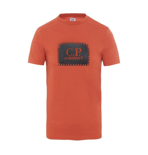 C.P. LABEL PRINT SS T SHIRT