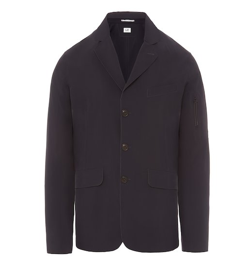 SEWN BY SOUND STRETCH NYLON BLAZER