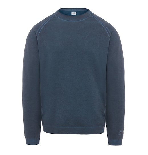 SEA ISLAND COTTON GD CREW NECK SWEATER