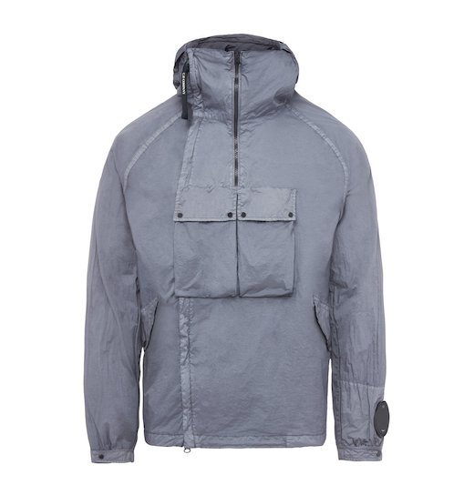 NYFOIL GD GOGGLE DOUBLE ZIP UTILITY JACKET