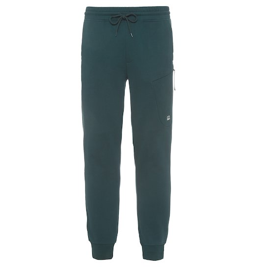 DIAGONAL FLEECE PLAIN JOGGING PANTS