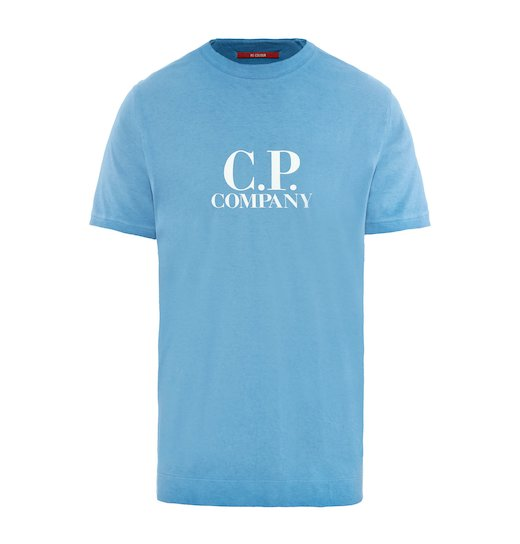 RE-COLOUR C.P. BIG LOGO JERSEY SS T SHIRT