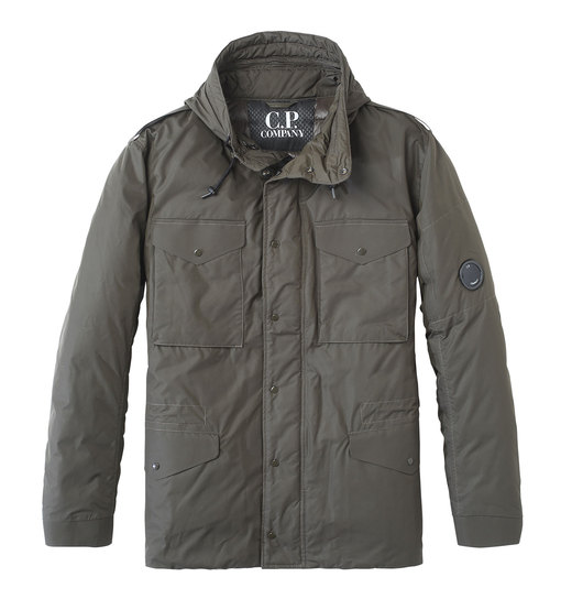 MICRO-M FIELD JACKET WITH DOWN LINING