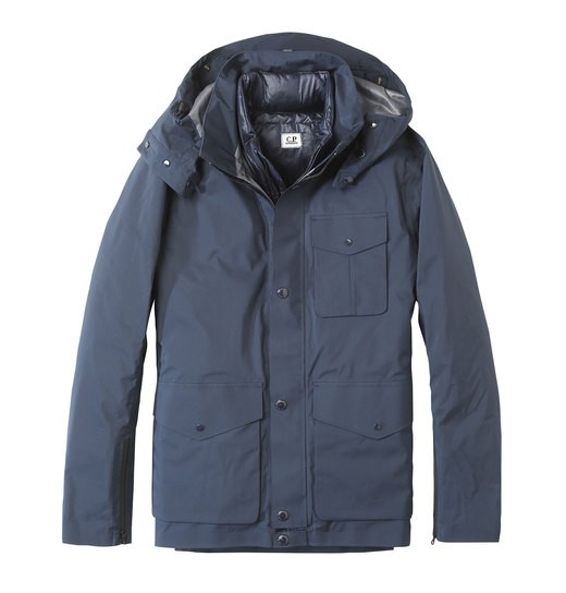 3-POCKET T-MACK GOGGLE JACKET WITH REMOVABLE INNER LINING