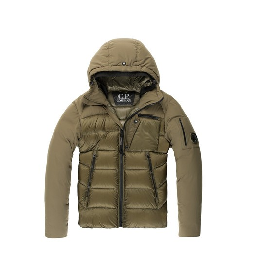 D.D. SHELL EXTREME WEATHER HOODED DOWN JACKET
