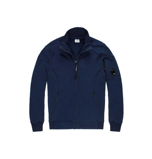 HEAVYWEIGHT COTTON FLEECE ZIP SWEATSHIRT