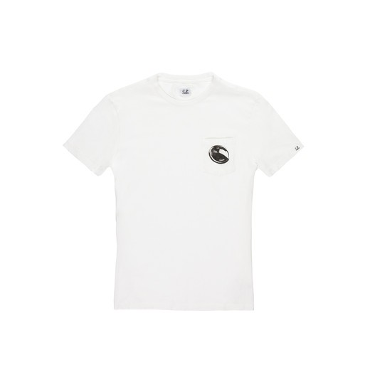 SCREENPRINTED LENS POCKET T-SHIRT