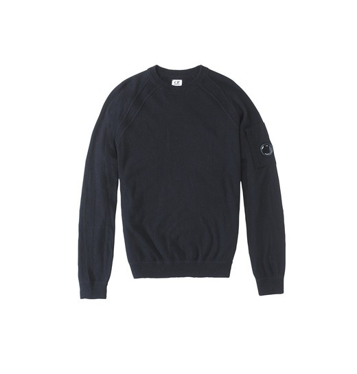 FELTED LAMBSWOOL CREWNECK